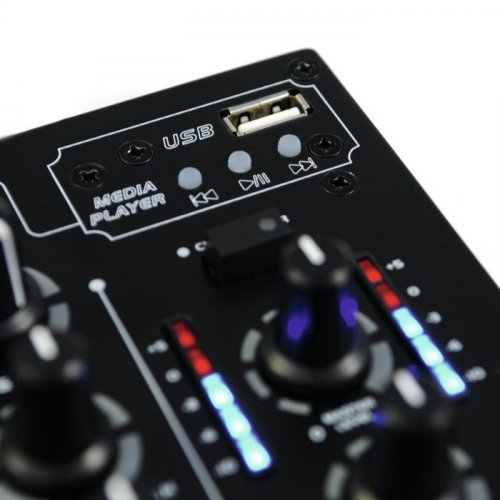 Μίκτης ήχου 3 καναλιών USB PM-311P Omnitronic