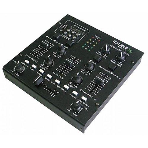 Μίκτης ήχου 3 καναλιών USB DJM200USB Ibiza Sound
