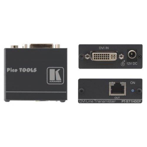 DVI Over Twisted Pair Transmitter PT-571 HDCP Kramer