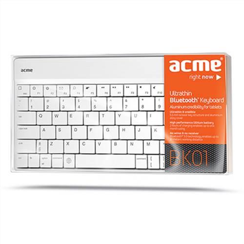 Πληκτρολόγιο Bluetooth BK01 ACME