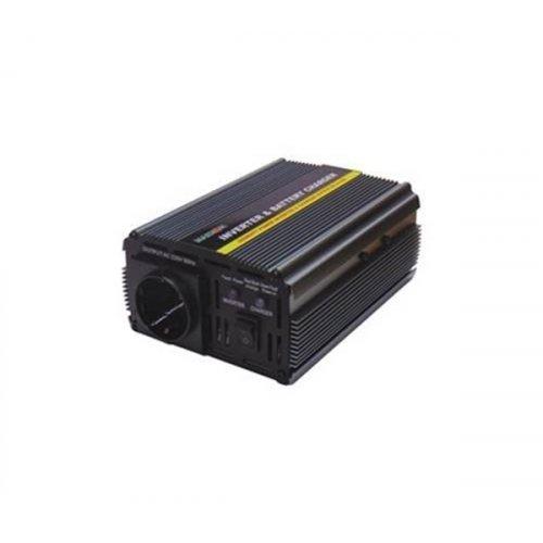 Inverter 24V->230V 500W Τροποποιημένο Ημίτονο PIC-500W Marxon