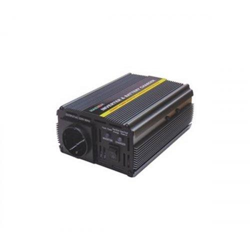 Inverter 12V->230V 500W Τροποποιημένο Ημίτονο PIC-500 Marxon