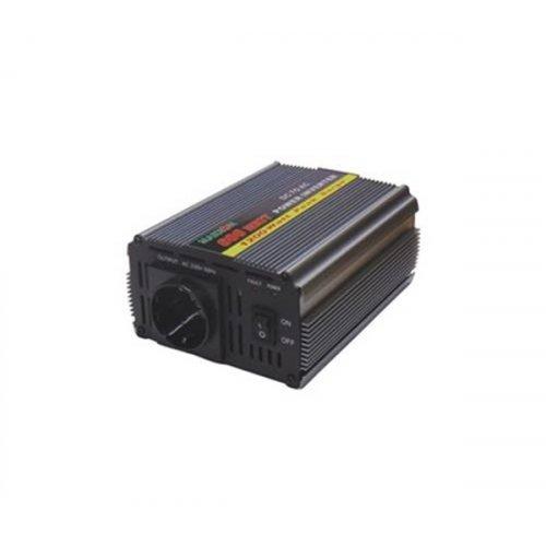 Inverter 12V->230V 600W Τροποποιημένο Ημίτονο PI-600 Marxon