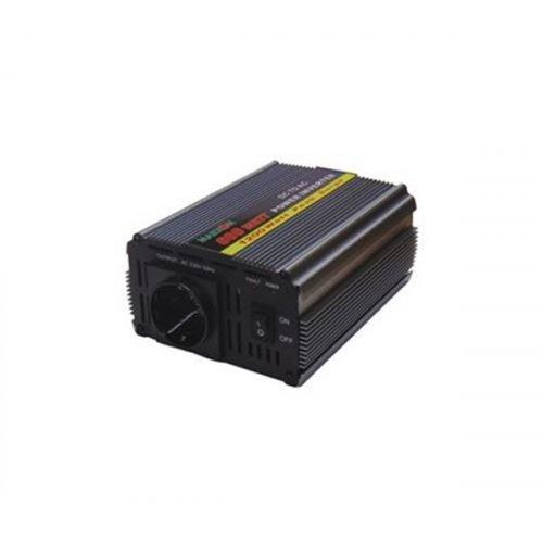 Inverter 24V->230V 600W Τροποποιημένο Ημίτονο PI-600 Marxon