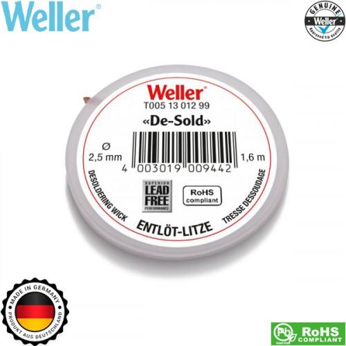 Σύρμα αποκόλλησης 1.6m 2.5mm 51301299 Weller