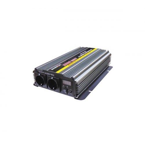 Inverter 12V->230V 2000W Τροποποιημένο Ημίτονο PI-2000 Marxon