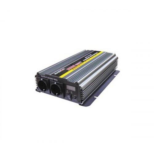 Inverter 24V->230V 2000W Τροποποιημένο Ημίτονο PI-2000 Marxon
