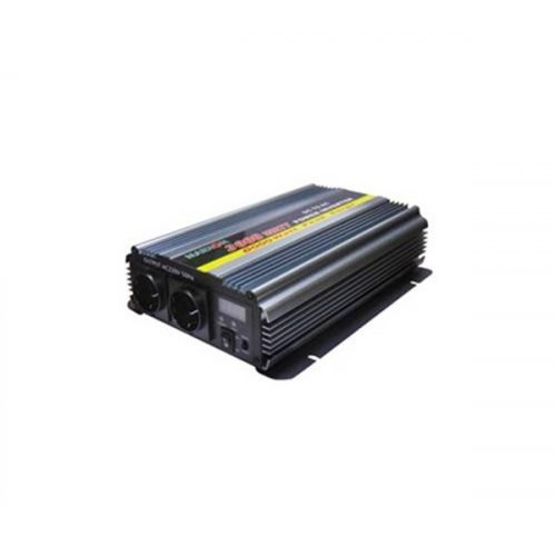 Inverter 12V->230V 3000W Τροποποιημένο Ημίτονο PI-3000 Marxon