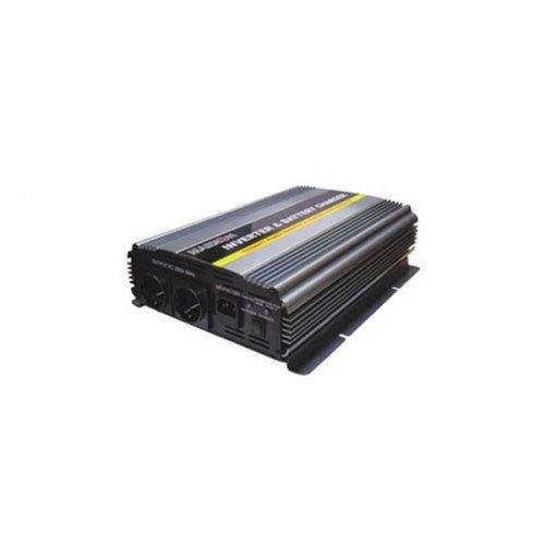 Inverter 12V->230V 1500W Τροποποιημένο Ημίτονο Με Φορτιστή  PIC-1500W Marxon
