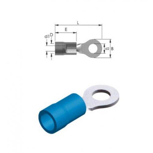 Ακροδέκτης οπής με μόνωση μπλε 8.4-2mm R2-8V LNG
