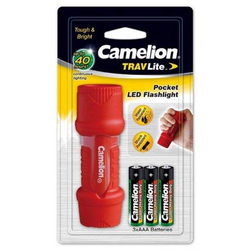 ΦΑΚΟΣ 3 x AAA 1W Αδιάβροχος IPX7  HP7011 Camelion