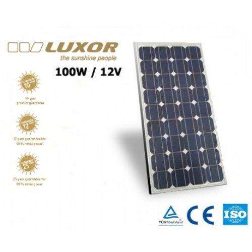 Πάνελ φωτοβολταϊκό 100Wp 12V 36cells LX-100M LUXOR