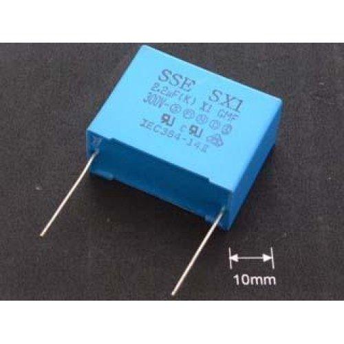 Πυκνωτής πολυπροπυλένιου MKP-2KV9,1NF 384 P22.5mm Pilkor