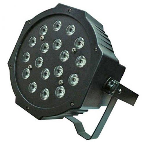 Φωτιστικό προβολέας Led RGB 18x1W μαύρο IP20 ST-1021 STARAY