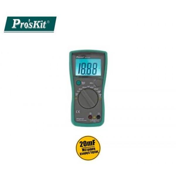Καπασιτόμετρο ψηφιακό MT-5110 PROSKIT