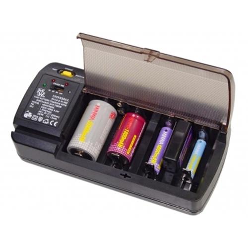 Φορτιστής μπαταριών AA, AAA, C, D, 9V, Ni-Mh, Ni-Cd MW-9398GS Minwa