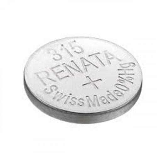 Μπαταρία κουμπί Silver Oxide L/D 1.55V 315 Renata