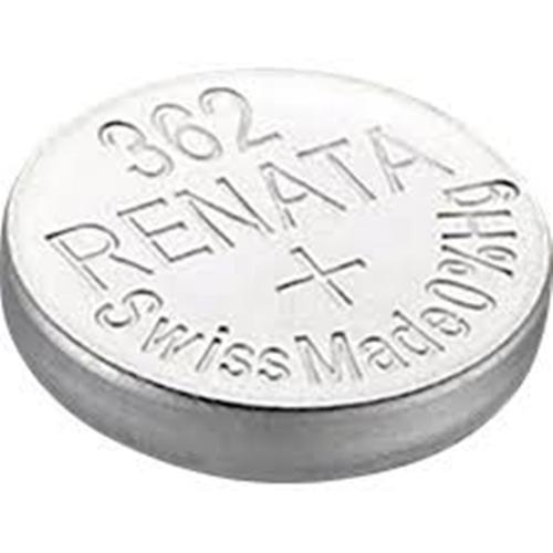 Μπαταρία κουμπί Silver Oxide L/D 1.55V 362 Renata