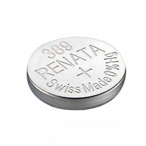Μπαταρία κουμπί Silver Oxide H/D 1.55V 389 Renata
