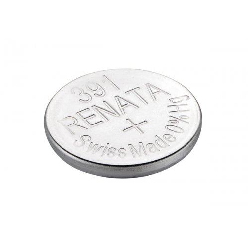 Μπαταρία κουμπί Silver Oxide H/D 1.55V 391 Renata