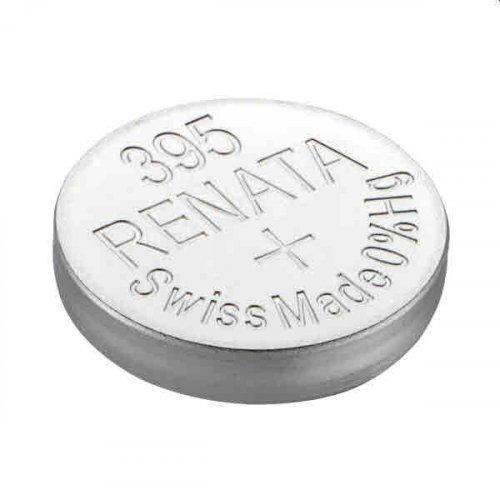 Μπαταρία κουμπί Silver Oxide L/D 1.55V 395 Renata