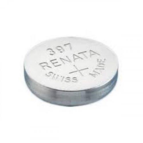 Μπαταρία κουμπί Silver Oxide L/D 1.55V 397 Renata