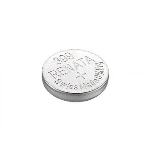 Μπαταρία κουμπί Silver Oxide H/D 1.55V 399 Renata