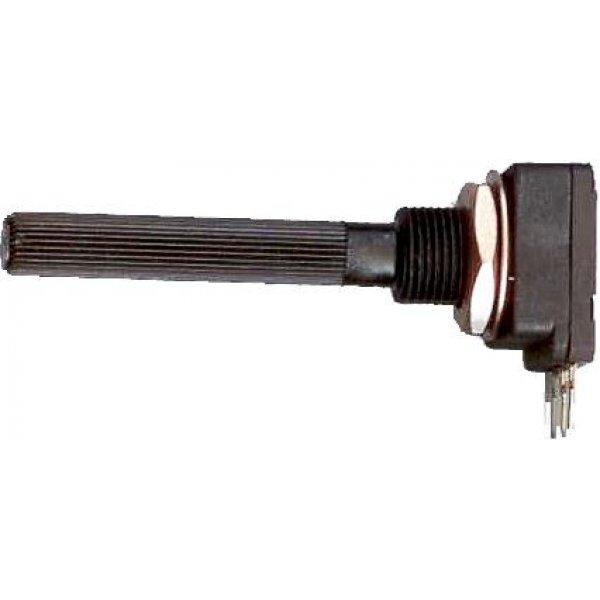 Ποτενσιόμετρο γραμμικό μονό με διακόπτη PC16I-Α 100Ω PIHER