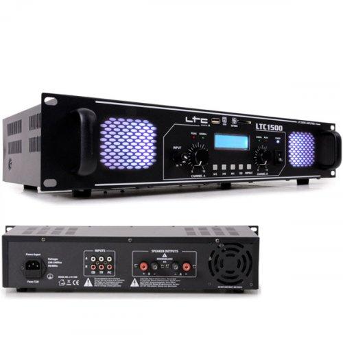 Ενισχυτής ήχου τελικός PA 2x750W LTC-1500 LTC Audio