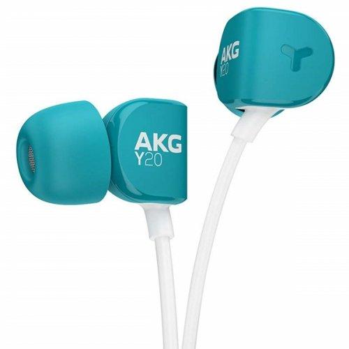 Ακουστικά Στερεοφωνικά Handsfree με Μικρόφωνο Μπλέ Y-20U AKG