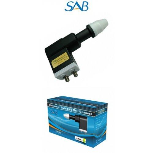 LNB 0,1dB Twin PREMIUM SLIM L915 SAB
