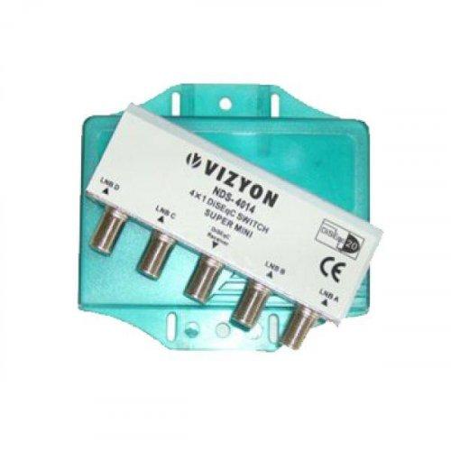 Diseqc 4x1 Vizyon NDS-4014