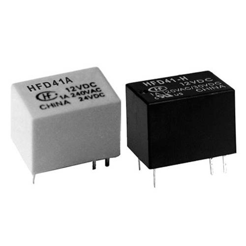 Relay ultra mini 12V 1A DC 1pins HFD41A HONGFA