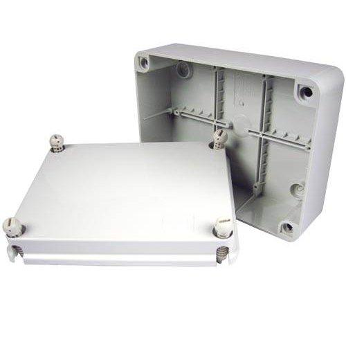 Κουτί πλαστικό IP56 100χ100χ50mm γκρι GW44204 GEWISS