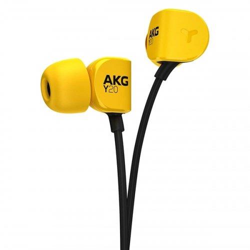 Ακουστικά Στερεοφωνικά Handsfree με Μικρόφωνο Κίτρινο Y 20U AKG