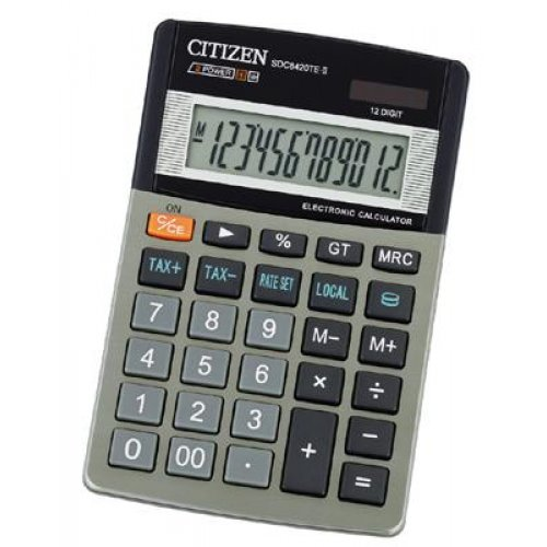 Citizen ηλιακό+μπαταρία 12d+TAX SDC-8420
