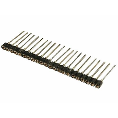 Pin headers θηλυκά 30Pins 2.54mm επίχρυσα KF1011-30P