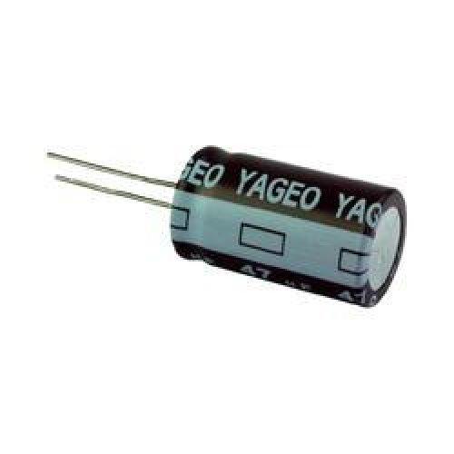 Πυκνωτής ηλεκτρολυτικός SK25V33μf 85*C LELON