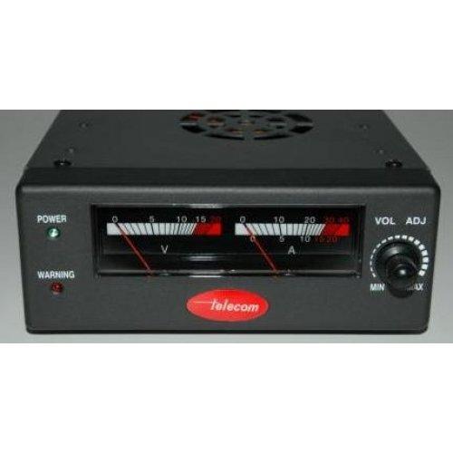 Τροφοδοτικό 230V->9-16VDC 25A switching ρυθμιζόμενο πάγκου AV-830-NF Telecom