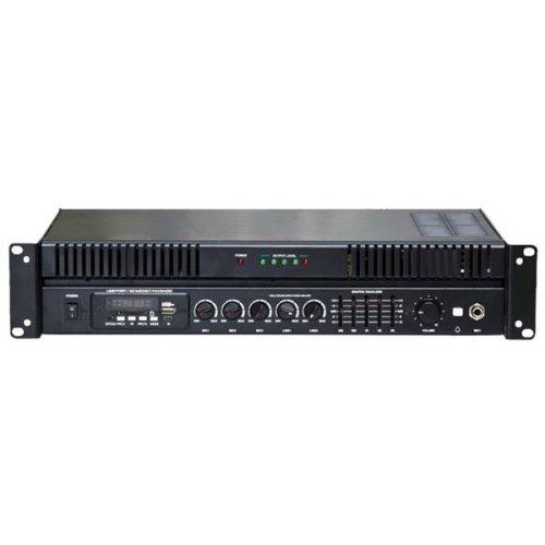 Ενισχυτής μικροφωνικός 100W 100V 3xMIC/USB/FM MPA-100QUF HENTR