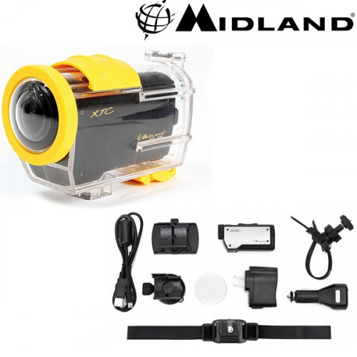 Action κάμερα XTC-200 HD + CC θήκη μαύρη