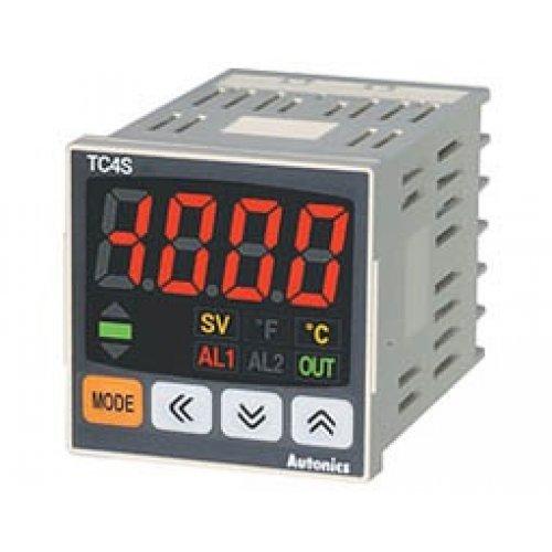 Ελεγκτής θερμοκρασίας χωρίς έξοδο 48x48mm 240V AC TC4S-N4R