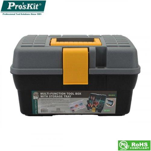 Κουτί πλαστικό 29x175x175mm SB-2918 Proskit