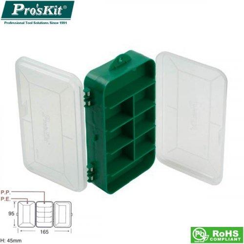 Κουτί πλαστικό με χωρίσματα 165x95x45mm 103-132C Proskit