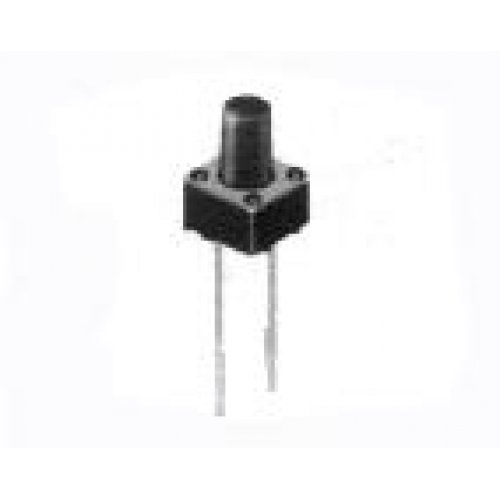 Tact switch 6x6x5mm 2pin 180gF