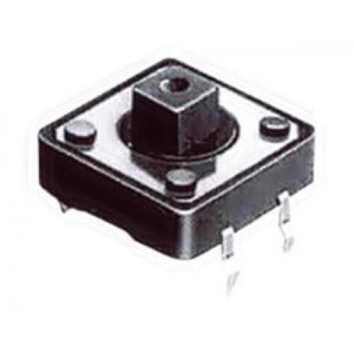 Tact switch 12x12x7.30mm 4pin 180gr TVGP01