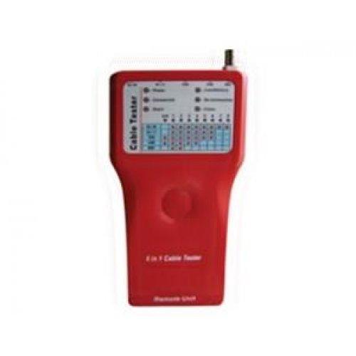 Tester δομημένης καλωδίωσης με LAN-BNC-USB-FIREWIRE 12-25-058 COMP