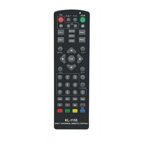 Τηλεχειριστήριο Universal DVB-T + Learn KL-1155