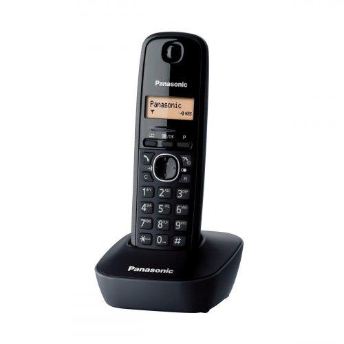 Τηλέφωνο ασύρματο μαύρο KX-TG1611 Panasonic