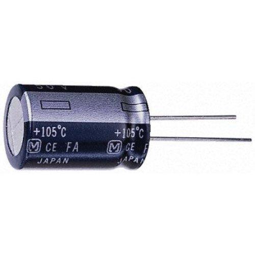 Πυκνωτής ηλεκτρολυτικός TKR100V2,2μF 105*C LELON